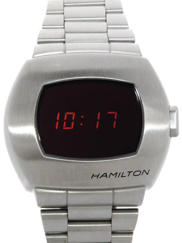 【HAMILTON】【'21年購入】【1970本限定】ハミルトン『アメリカン クラシック PSR パルサー50周年記念』H52414130 メンズ クォーツ 1ヶ月保証【中古】