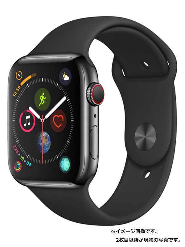 【Apple】【アップルウォッチ シリーズ4】アップル『Apple Watch Series 4 GPS+Cellularモデル 44mm』MTX22J/A メンズ スマートウォッチ 1週間保証【中古】