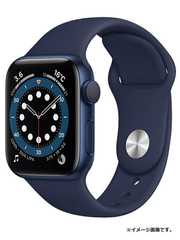 【Apple】【アップルウォッチ シリーズ6】【未開封】アップル『Apple Watch Series 6 GPSモデル 40mm』MG143J/A ボーイズ スマートウォッチ 1週間保証【中古】
