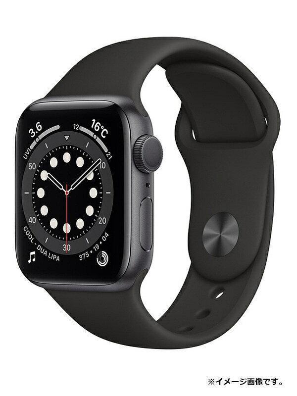 【Apple】【アップルウォッチ シリーズ6】【未開封】アップル『Apple Watch Series 6 GPSモデル 40mm』MG133J/A ボーイズ スマートウォッチ 1週間保証【中古】