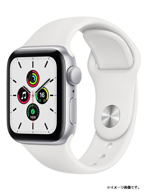 【Apple】【アップルウォッチ シリーズSE】【未開封】アップル『Apple Watch SE GPSモデル 40mm』MYDM2J/A ボーイズ スマートウォッチ 1週間保証【中古】
