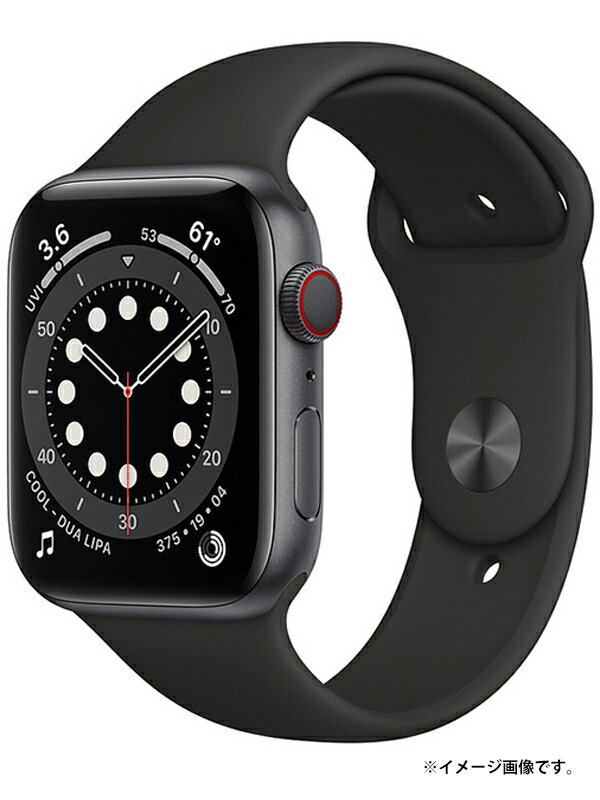 【Apple】【アップルウォッチ シリーズ6】【未開封】アップル『Apple Watch Series6 GPS+Cellularモデル 44mm』MG2E3J/A スマートウォッチ 1週間保証【中古】