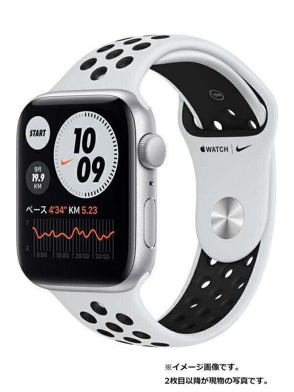 【Apple】【アップルウォッチ SE】アップル『Apple Watch Nike SE GPSモデル 44mm』MYYH2J/A メンズ スマートウォッチ 1週間保証【中古】