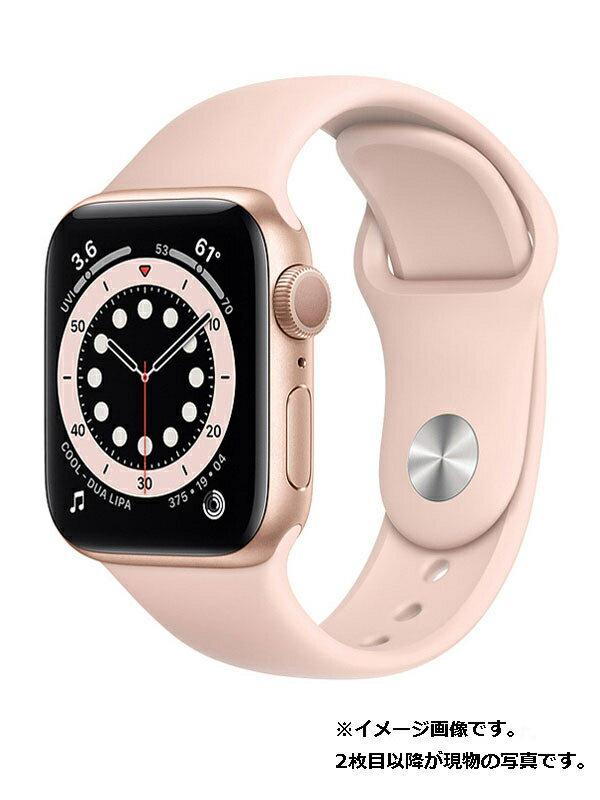 【Apple】【アップルウォッチ シリーズ6】アップル『Apple Watch Series 6 GPSモデル 40mm』MG123J/A ボーイズ スマートウォッチ 1週間保証【中古】