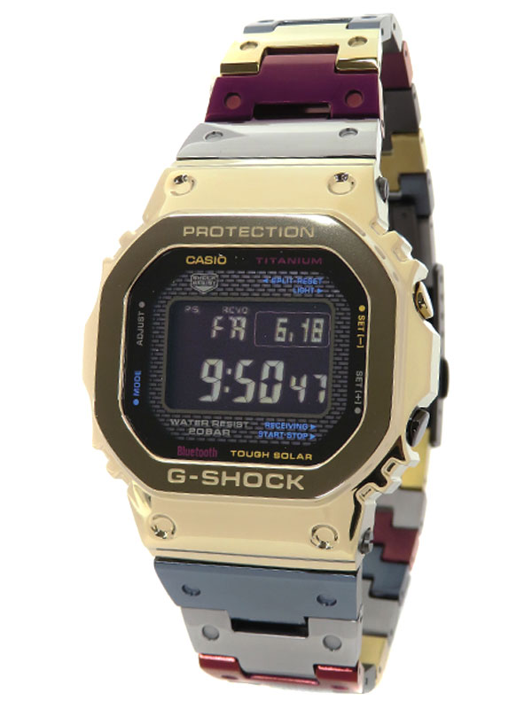 【CASIO】【G-SHOCK】【モバイルリンク】【Tran Tixxii】【美品】カシオ『Gショック フルメタル』GMW-B5000TR-9JR ボーイズ ソーラークォーツ 3ヶ月保証【中古】