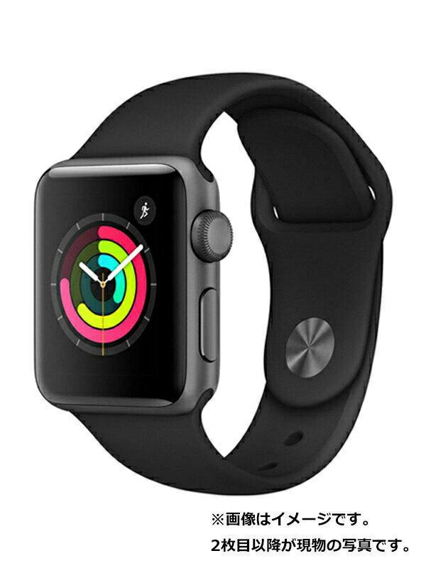 【Apple】【アップルウォッチシリーズ3】アップル『Apple Watch Series 3 38mm GPSモデル』MTF02J/A ボーイズ スマートウォッチ 1週間保証【中古】