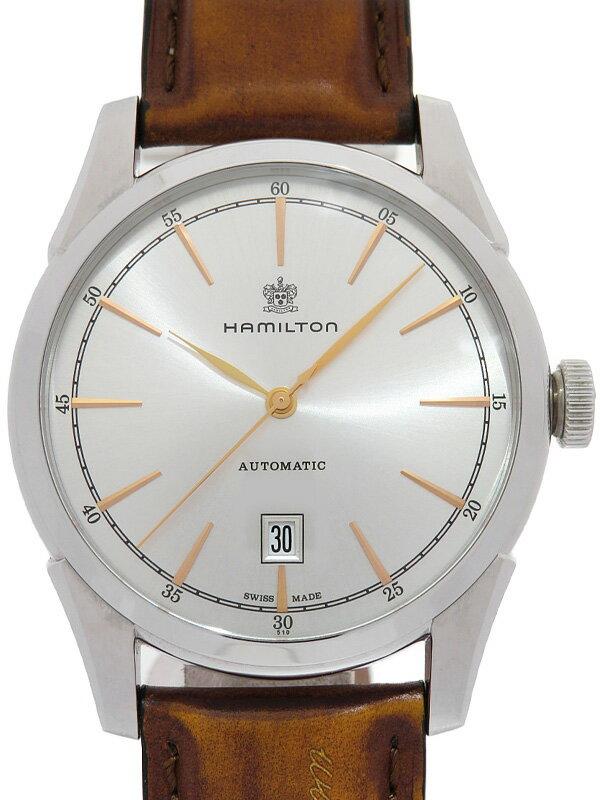 【HAMILTON】【裏スケ】ハミルトン『ジャズマスター スピリットオブリバティ』H42415551 メンズ 自動巻き 1週間保証【中古】