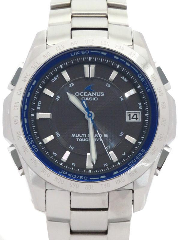 【CASIO】【OCEANUS】カシオ『オシアナス』OCW-T100TD-1A メンズ ソーラー電波クォーツ 1週間保証【中古】