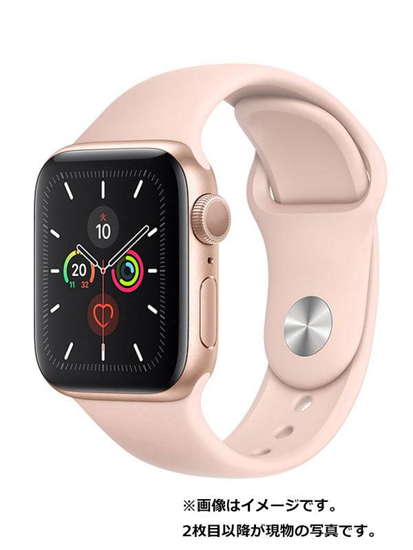 【Apple】【アップルウォッチ シリーズ5】アップル『Apple Watch Series 5 GPSモデル 40mm』MWV72J/A メンズ スマートウォッチ 1週間保証【中古】
