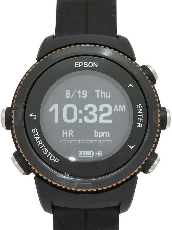 【EPSON】エプソン『リスタブル ジーピーエス』U-350BS メンズ ウェアラブル端末 1週間保証【中古】