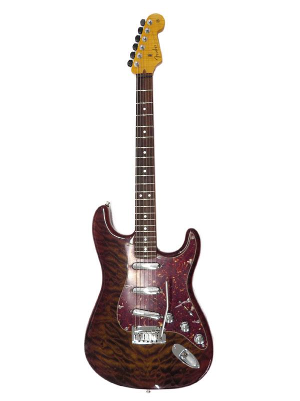 【Fender CUSTOMSHOP】【工房メンテ】フェンダーカスタムショップ『エレキギター』Quilted Artisan Stratocaster 2015年製 1週間保証【中古】
