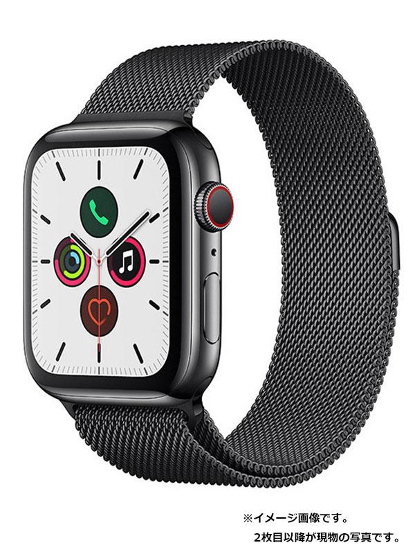 【Apple】【アップルウォッチ シリーズ5】アップル『Apple Watch Series 5 GPS+Cellularモデル 44mm』MWWL2J/A メンズ スマートウォッチ 1週間保証【中古】