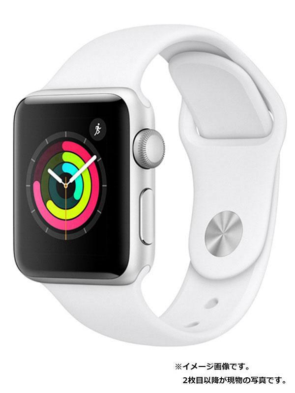 【Apple】【アップルウォッチ シリーズ3】アップル『Apple Watch Series 3 GPSモデル 38mm』MTEY2J/A ボーイズ スマートウォッチ 1週間保証【中古】