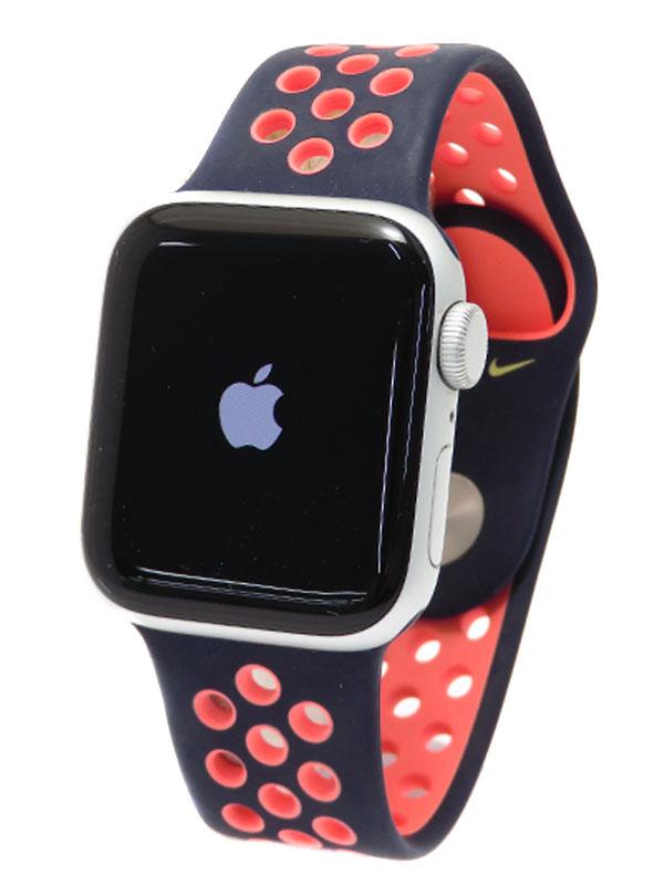 【Apple】【アップルウォッチ SE】アップル『Apple Watch Nike Series SE GPSモデル 40mm』MYYL2J/A ボーイズ スマートウォッチ 1週間保証【中古】