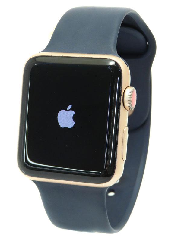 【Apple】【アップルウォッチ シリーズ3】アップル『Apple Watch Series 3 GPS+Cellularモデル 42mm』MQKP2J/A メンズ スマートウォッチ 1週間保証【中古】