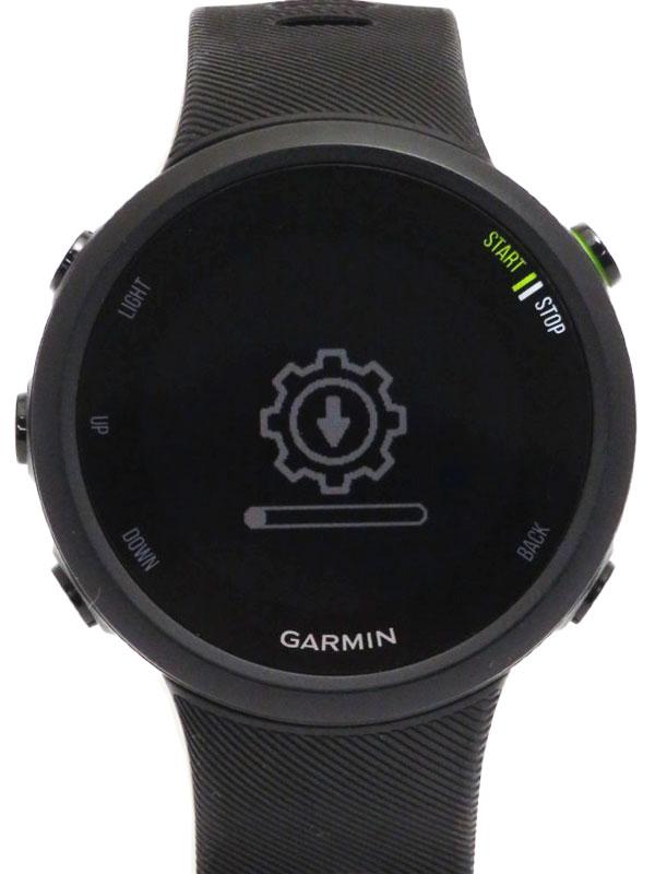 【GARMIN】【For Athlete】ガーミン『フォアアスリート 45 GPSランニングウォッチ』010-02156-45 ボーイズ ウェアラブル端末 1週間保証【中古】