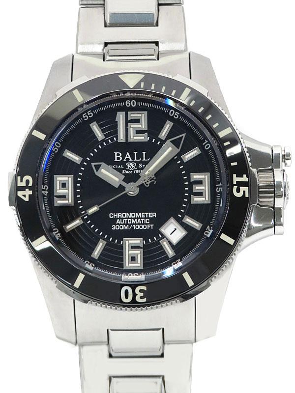【BALL】ボールウォッチ『エンジニア ハイドロカーボン セラミックXV』DM2136A-SCJ-BK メンズ 自動巻き 3ヶ月保証【中古】