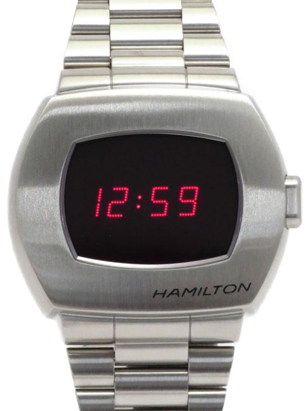 【HAMILTON】【21年購入】ハミルトン『PSR パルサー50周年記念』H52414130 メンズ クォーツ 1ヶ月保証【中古】