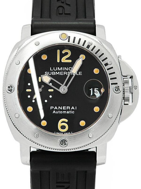 【PANERAI】パネライ『ルミノール サブマーシブル 44mm』PAM00024 G番'04年製 メンズ 自動巻き 12ヶ月保証【中古】
