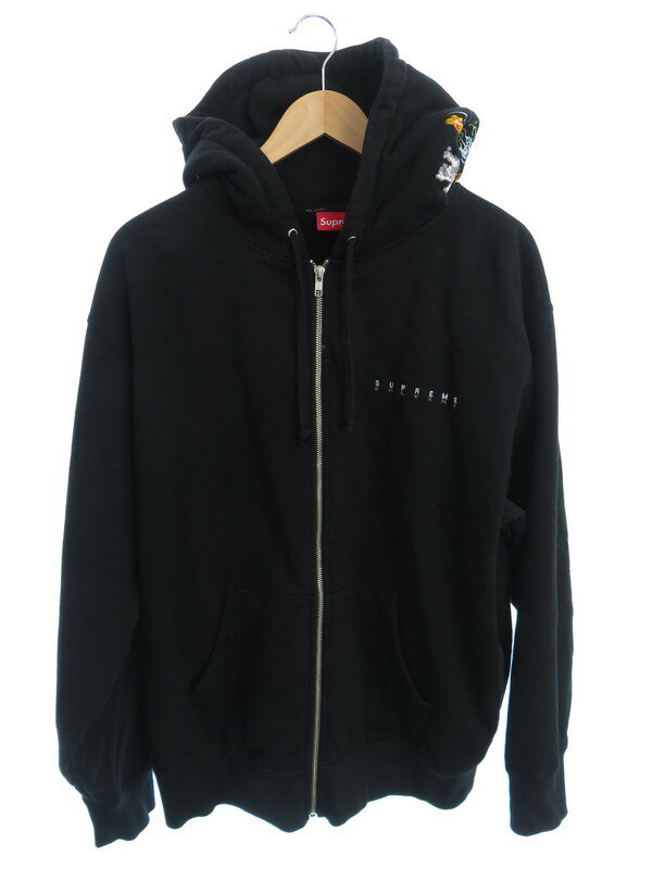 【Supreme】【Globe Zip Up Hooded Sweatshirt】シュプリーム『裏起毛ジップアップパーカー size Large』20FW メンズ 1週間保証【中古】