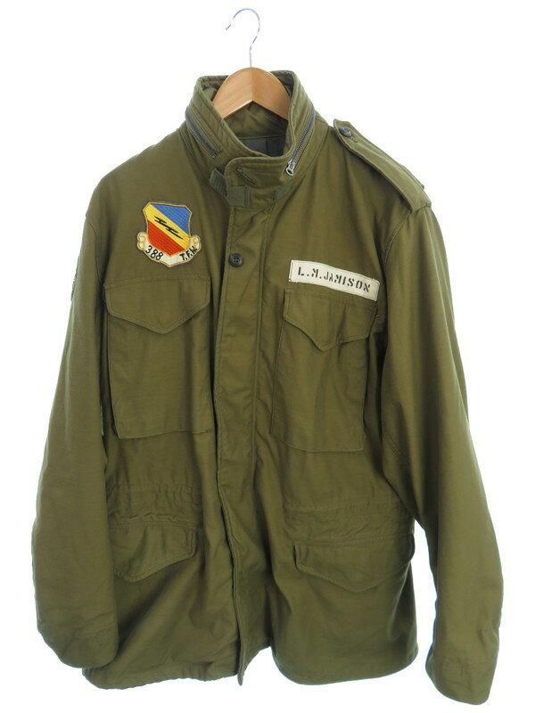 【BUZZ RICKSON'S】【グレーライナー】バズリクソンズ『M65ジャケット sizeREGULAR LARGE』BR11702/BR11756 メンズ ブルゾン 1週間保証【中古】