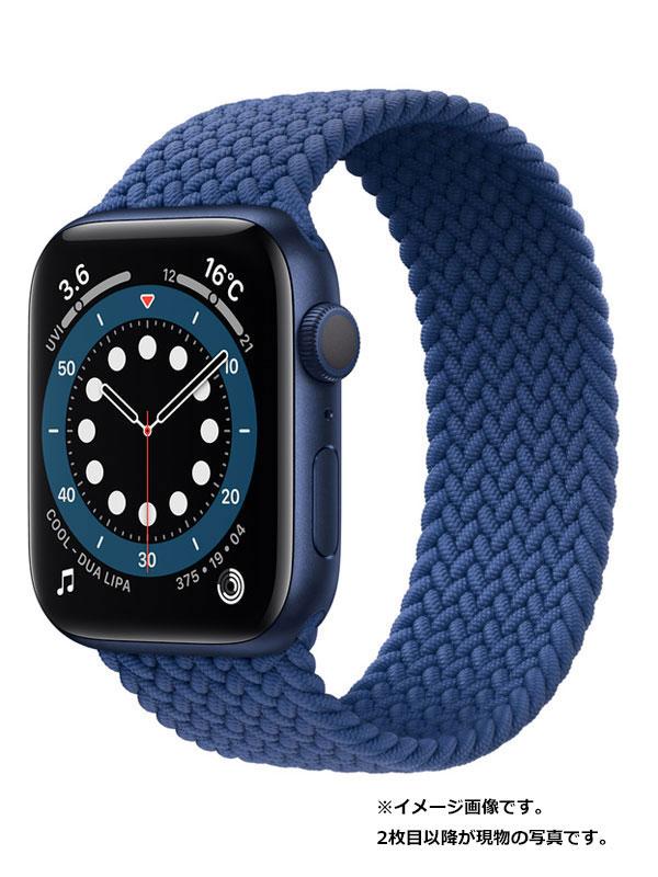 【Apple】【アップルウォッチ シリーズ6】アップル『Apple Watch Series 6 GPSモデル 44mm』M02G3J/A メンズ スマートウォッチ 1週間保証【中古】