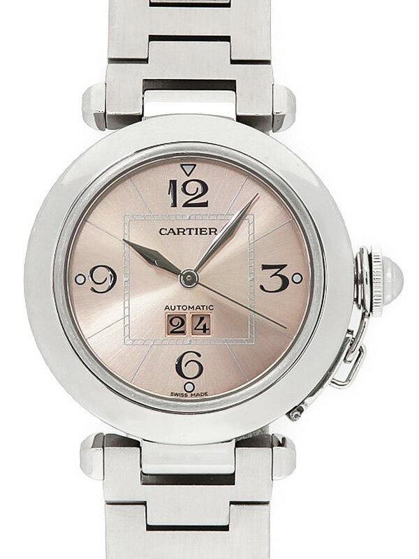 【Cartier】【仕上済】 カルティエ『パシャC ビッグデイト』W31058M7 ボーイズ 自動巻き 3ヶ月保証【中古】
