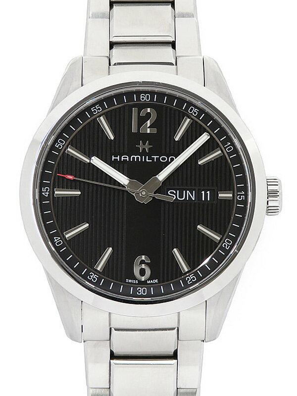 【HAMILTON】【電池交換済】ハミルトン『ブロードウェイ デイデイト』H43311135 メンズ クォーツ 1週間保証【中古】