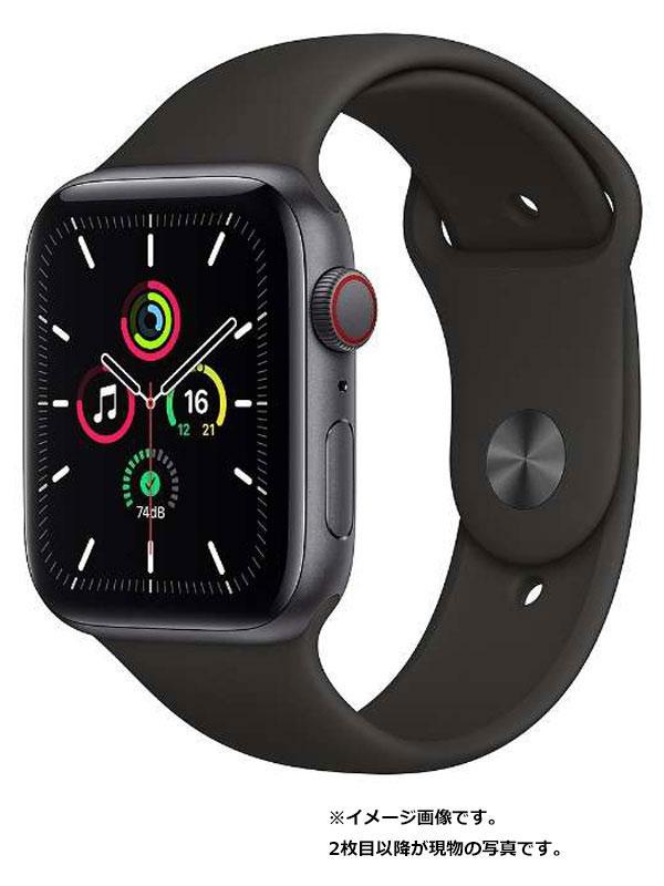 【Apple】【アップルウォッチ SE】アップル『Apple Watch SE GPS+Cellularモデル 44mm』MYF02J/A メンズ スマートウォッチ 1週間保証【中古】