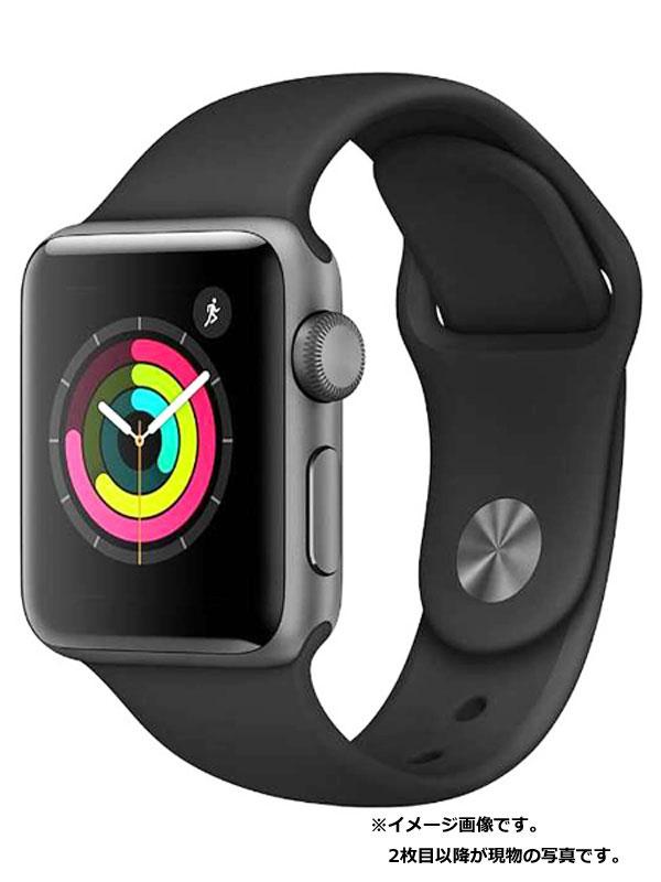 【Apple】【アップルウォッチシリーズ3】アップル『Apple Watch Series3 38mm GPSモデル』NQKV2LL/A ボーイズ スマートウォッチ 1週間保証【中古】