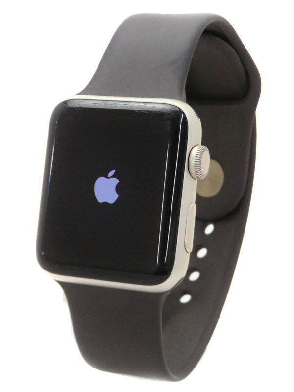 【Apple】【アップルウォッチ シリーズ2】アップル『Apple Watch Series2 42mm ココアスポーツバンド』MNT72J/A ボーイズ スマートウォッチ 1週間保証【中古】
