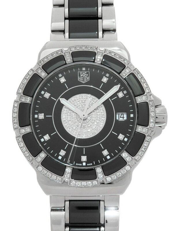 【TAG Heuer】【仕上済】タグホイヤー『フォーミュラ1 ダイヤモンド』WAH1219.BA0859 レディース クォーツ 3ヶ月保証【中古】
