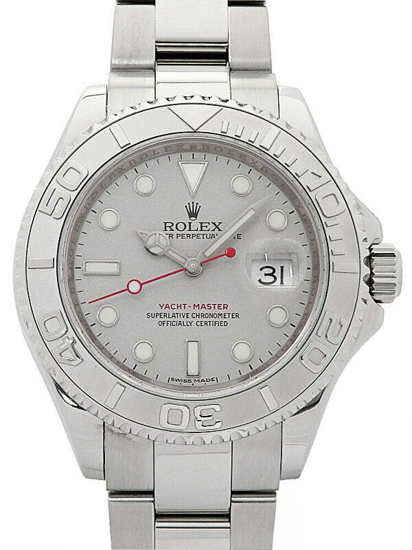 【ROLEX】【仕上済】ロレックス『ヨットマスターロレジウム』16622 Z番'06年頃製 メンズ 自動巻き 12ヶ月保証【中古】