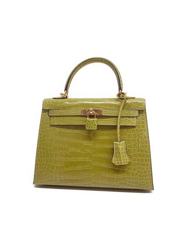 【HERMES】【ゴールド金具】エルメス『ケリー25 外縫』D刻印2000年 レディース 2WAYバッグ 1週間保証【中古】