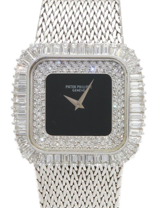 【PATEK PHILIPPE】パテックフィリップ『ダイヤモンドウォッチ』3625/1 ボーイズ 手巻き 6ヶ月保証【中古】