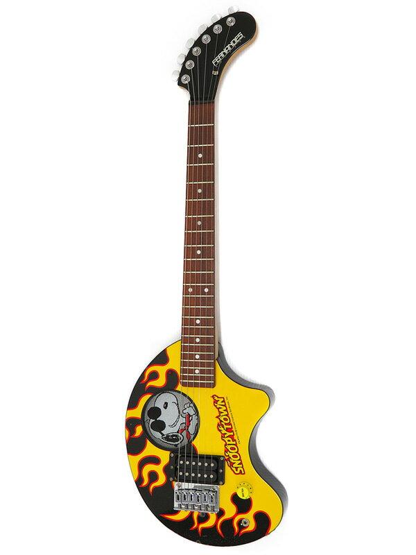 【FERNANDES】【Snoopy town 限定発売品】フェルナンデス『アンプ内蔵 エレキギター』Snoopy Town ZO-3 1週間保証【中古】b03g/h10B