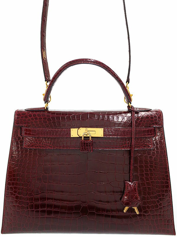 【HERMES】【ゴールド金具】エルメス『ケリー32 外縫い』Z刻印 1996年製 レディース 2WAYバッグ 1週間保証【中古】