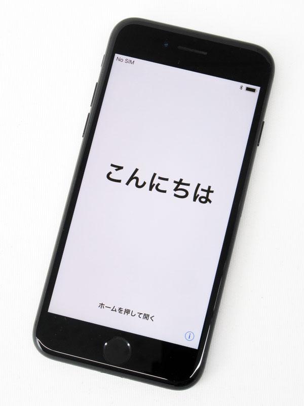 【Apple】アップル『iPhone 7 128GB docomo』MNCK2J/A ブラック iOS11.0.3 4.7型 白ロム ○判定 スマートフォン【中古】