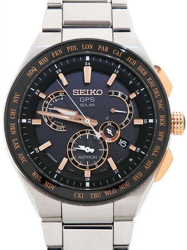 【SEIKO】【'17年購入】【美品】セイコー『アストロン』SBXB125 73****番 メンズ ソーラー電波GPS 3ヶ月保証【中古】