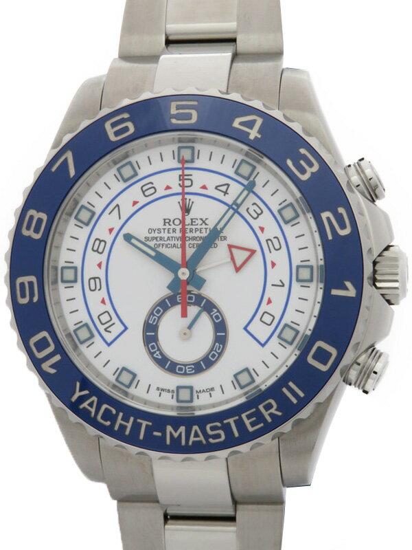 【ROLEX】ロレックス『ヨットマスター2』116680 ランダム番 メンズ 自動巻き 12ヶ月保証【中古】