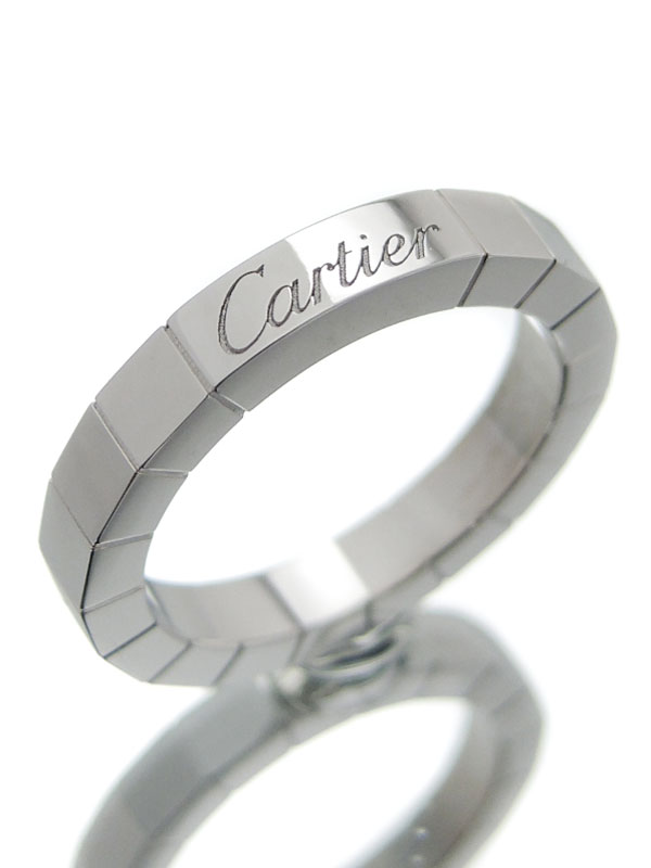 【Cartier】【仕上済】カルティエ『ラニエール リング』6号 1週間保証【中古】