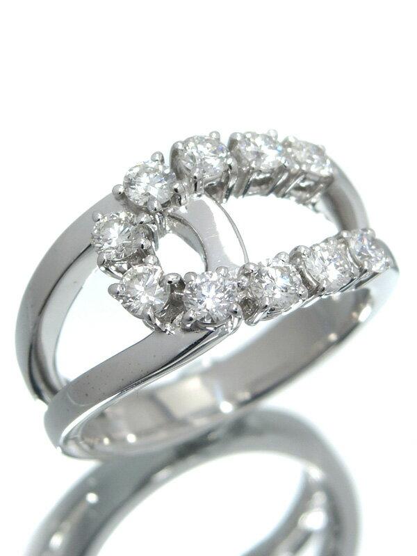 【TASAKI】【仕上済】タサキ『K18WGリング ダイヤモンド0.70ct』12.5号 1週間保証【中古】