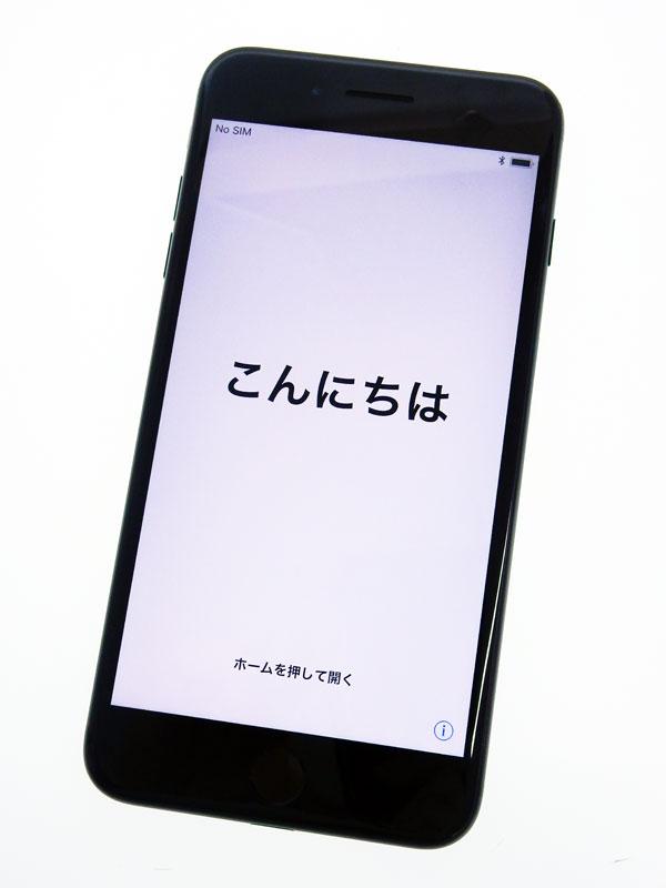 【Apple】アップル『iPhone 7 Plus 256GB docomo』MN6Q2J/A ジェットブラック iOS11.2.1 5.5型 白ロム ○判定 スマートフォン【中古】