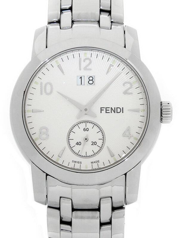 【FENDI】【ビッグデイト】フェンディ『クラシコ』2100G メンズ クォーツ 1週間保証【中古】