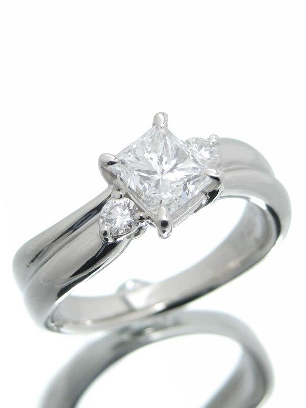 【ソーティング】【仕上済】セレクトジュエリー『PT900リング ダイヤモンド1.029ct/D/SI-1』11号 1週間保証【中古】