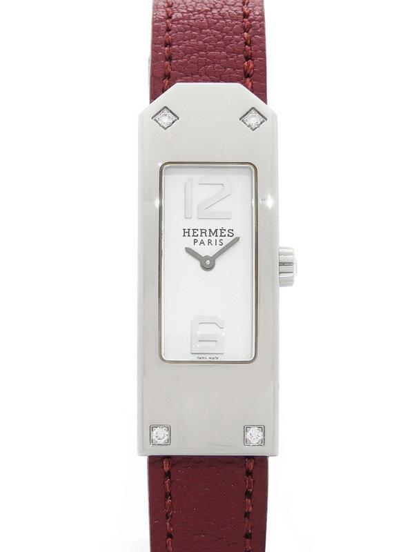 【HERMES】【電池交換済】エルメス『ケリー2』KT1.230.130/0030M レディース クォーツ 1ヶ月保証【中古】