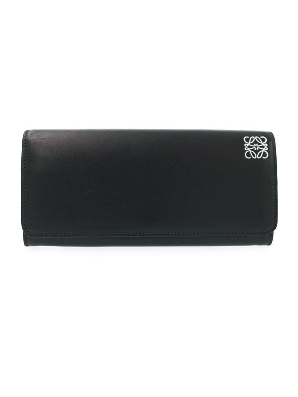 【LOEWE】ロエベ『アナグラム 二つ折り長財布』レディース 1週間保証【中古】