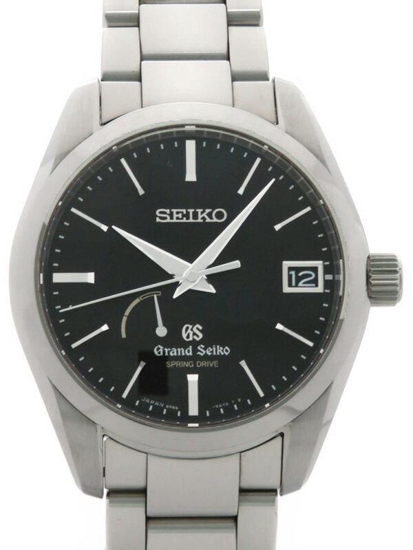 【SEIKO】【GS】【セイコー『グランドセイコー』SBGA085 45****番 メンズ スプリングドライブ 3ヶ月保証【中古】