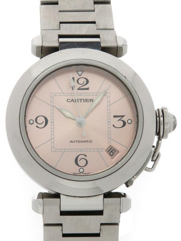 【CARTIER】カルティエ『パシャC』W31075M7 ボーイズ 自動巻き 3ヶ月保証【中古】