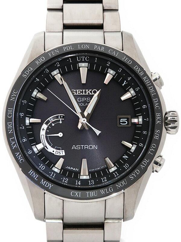 【SEIKO】【ASTRON】【'17年購入】セイコー『アストロン』SBXB085 69****番 メンズ ソーラーGPS 1ヶ月保証【中古】